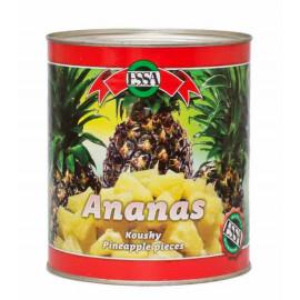 Ananas kousky 850g