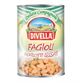 Fagioli Borlotti Lessati  400g