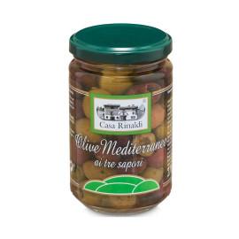 Olive Mediterranee ai tre...
