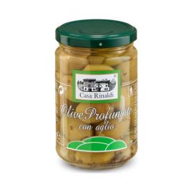 Olive Profumate con aglio...
