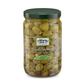 Olive verdi profumate con...