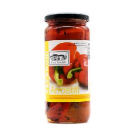 Peperoni rossi arrostiti 450 g